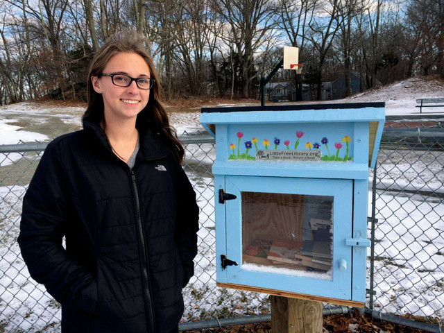 Fellingham Brings Little Free Libraries to Lincoln