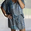 Thumbnail: Peppa Batwing Dress - Blue square