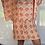 Thumbnail: Peppa Batwing Dress - orange swirls
