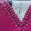 Thumbnail: Handmade Leather Purse - Pink