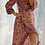 Thumbnail: Ella Wrap Long sleeve - Retro Peach