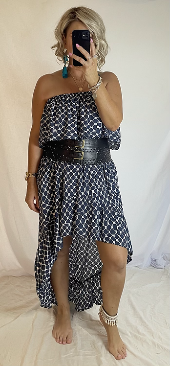 Roxy Dress - Blue Check