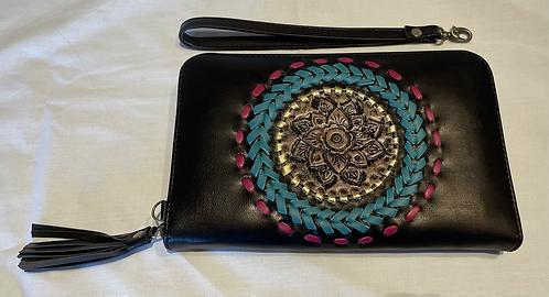 Handmade Leather Purse - Black