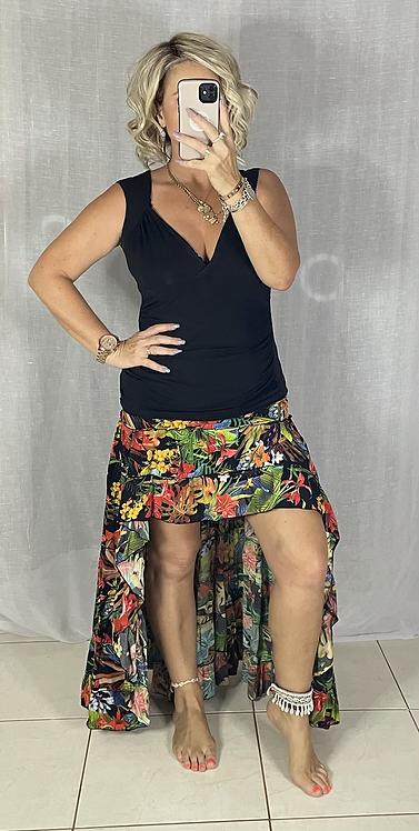 Roxy Skirt - Tropical multi