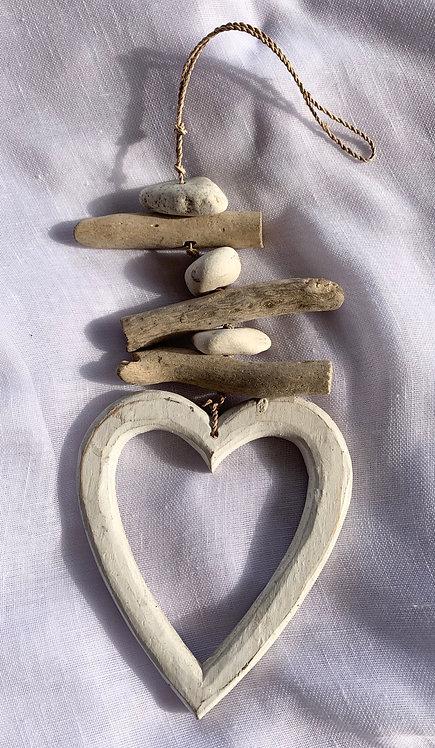 Stone & Woods Heart White