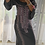 Thumbnail: Dress  - Grey with pink embroidery and sequins