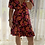 Thumbnail: Juno Short Wrap - Firestone Floral