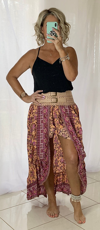 Marley Skirt - Retro Peach