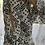 Thumbnail: Embellished Dress Elastic waist - Black & White Diamond