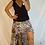 Thumbnail: Roxy Skirt - Chocolate leopard