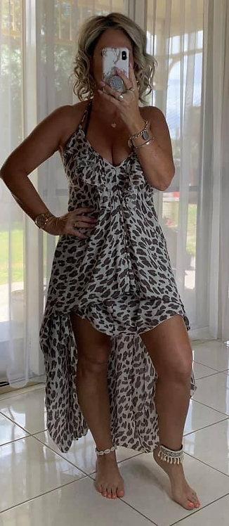 Izzy Maxi Dress - Leopard