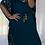 Thumbnail: Kaftan - Embroidered Tie waist Black