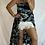 Thumbnail: Roxy Skirt - Black Banana Leaf