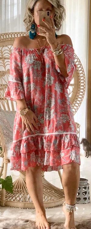 Josie - Red Floral
