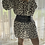 Thumbnail: Larnie Shift Dress - Cream Leopard