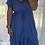 Thumbnail: Embellished Hi lo Dress - Blue