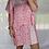 Thumbnail: Peppa Batwing Dress - Coral + White