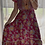 Thumbnail: Iesha Dress - Red + Yellow Floral