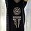 Thumbnail: Kaftan - Black with Beige sequins