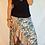 Thumbnail: Halo Wrap Skirt - Coco blue