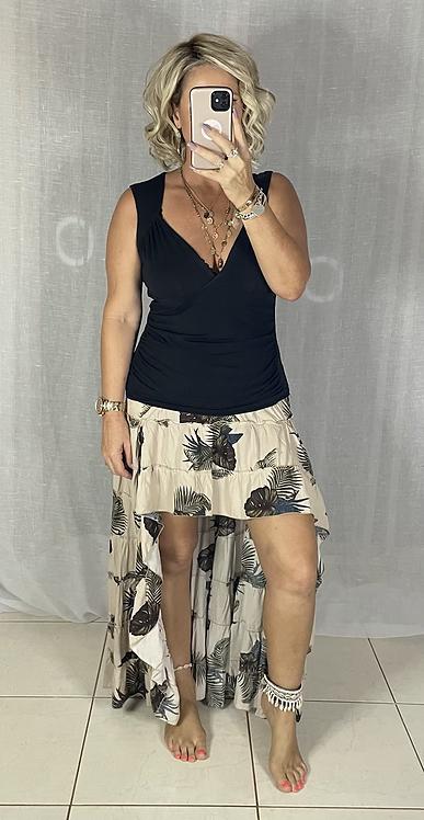 Roxy Skirt - Tropical Beige