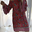 Thumbnail: Sammy Ruffle Sleeve Shift Dress - Taro Red