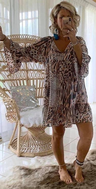 Millie - Pink Leopard