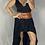Thumbnail: Roxy Skirt - Midnight Black