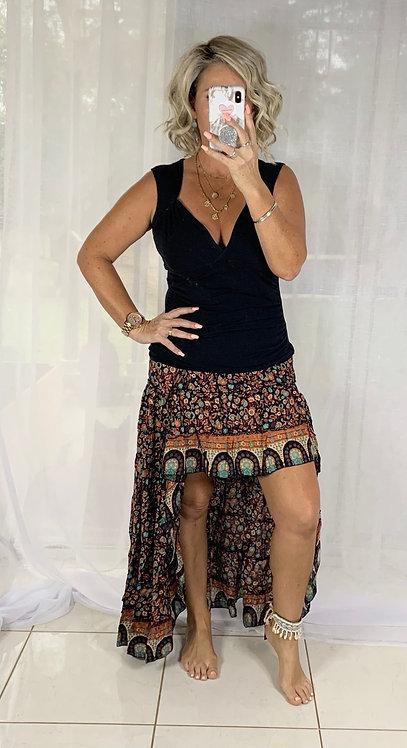 Roxy Skirt - Boho Brown