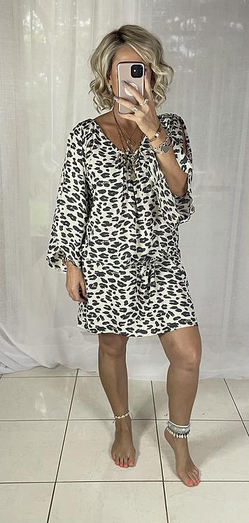 Rosie - Cream Leopard