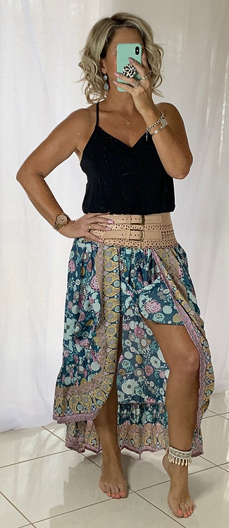 Marley Skirt - Coco Blue