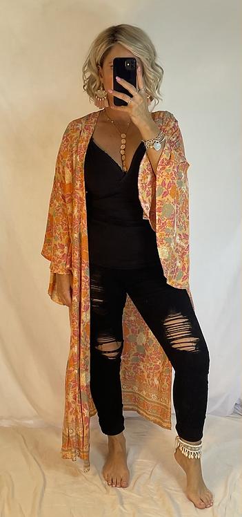 Gracie Kimono Cover - Sherbet