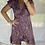 Thumbnail: Juno Short Wrap - Purple + Orange