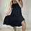 Thumbnail: Codie Pinnafore  Dress - Black