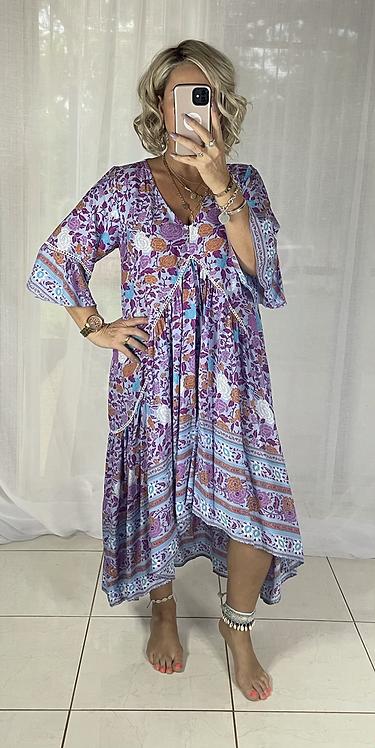 Frankie Maxi Dress - Purple 51