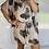 Thumbnail: Peppa Batwing Dress - Tropical Beige