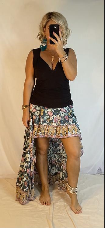 Roxy Skirt - Coco blue