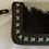 Thumbnail: Handmade Leather Purse - Chocolate Brown + Aqua