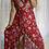 Thumbnail: Ella Wrap - Red Hibiscus *****