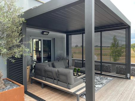 3 bonnes raisons d'installer une pergola bioclimatique chez vous
