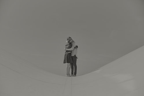 Couple in love on the rooftop #02