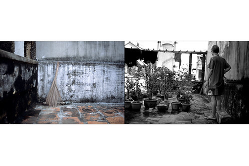 Diptyque The broom + Chu Chi on the rooftop with the vegetable garden #02