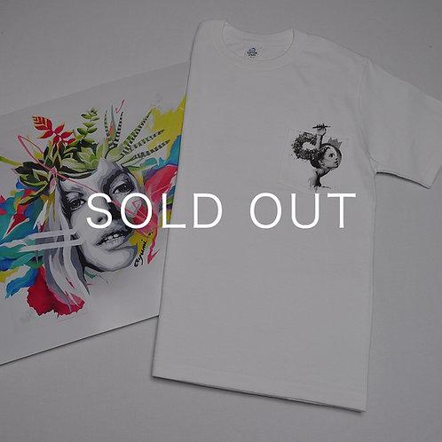 "Poster ""ALBERO"" × T-shirt ""do"""
