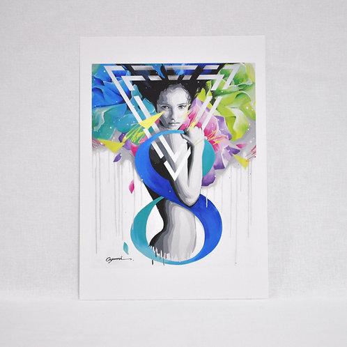"Art Card ""8"""