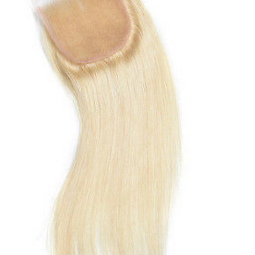 613 Blonde closure