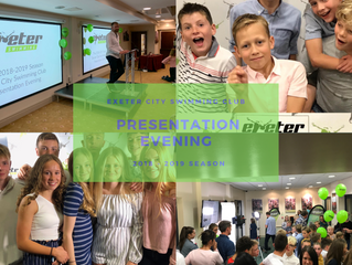 Presentation Evening 2018 - 2019 Season