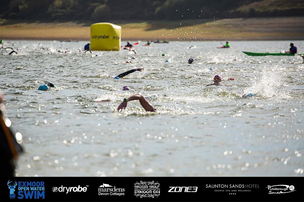 Image courtesy of Exmoor Open Water Swim