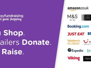 Sign up to easyfundraising to raise money towards ECSC