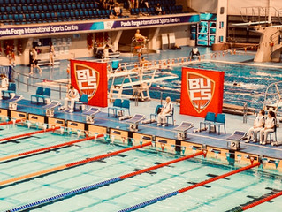 ECSC swimmers at Speedo BUCS Champs