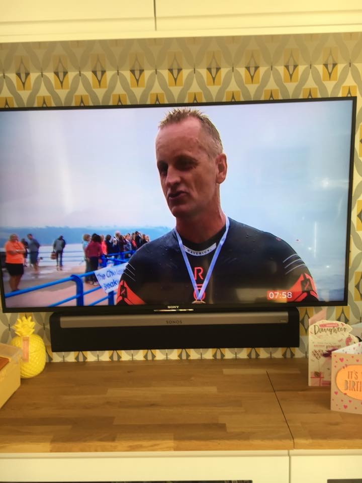 Steve Hurley on BBC Spotlight